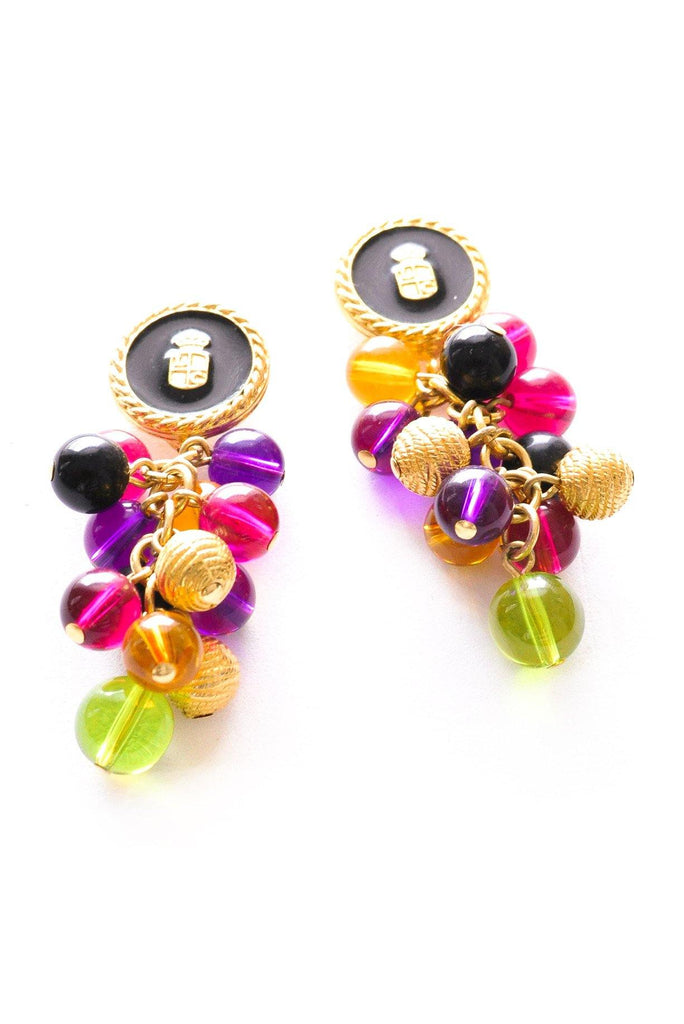 Fruit Salad Drop Pierced Earrings