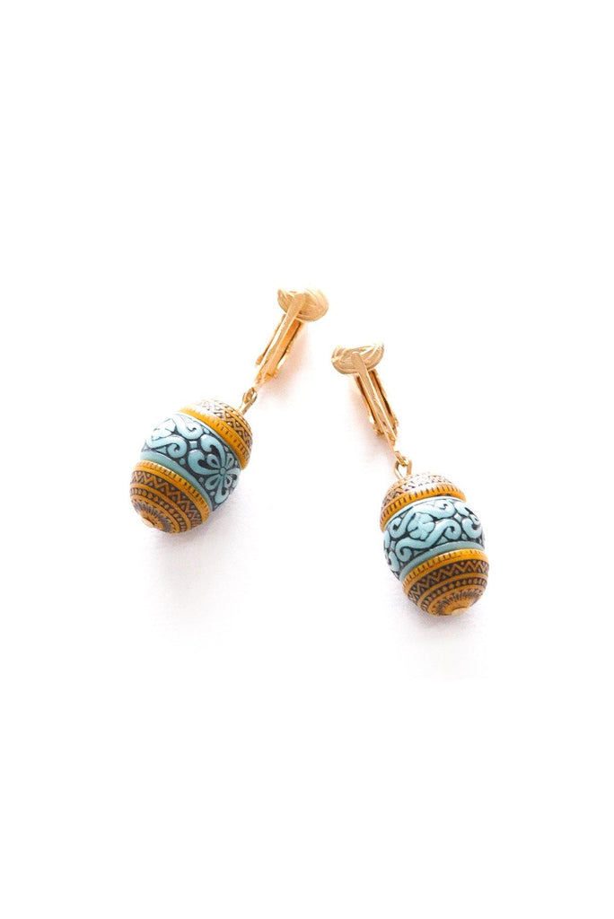 Boho Drop Clip-on Earrings