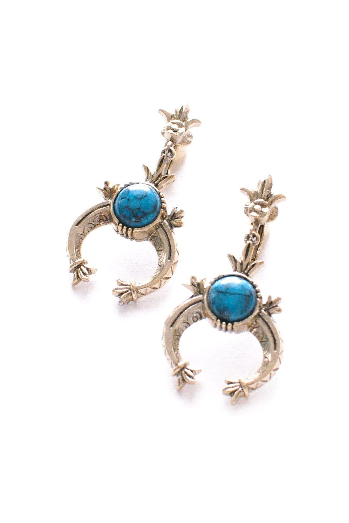 Squash Blossom Clip-on Earrings
