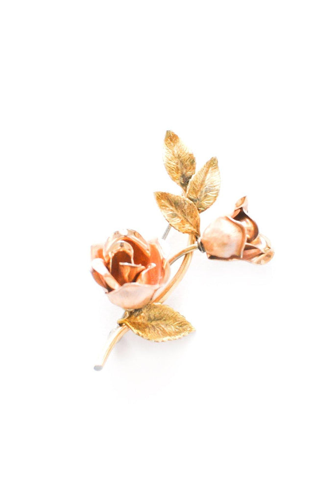 Floral Rose Brooch
