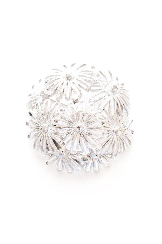 Floral Dome Brooch