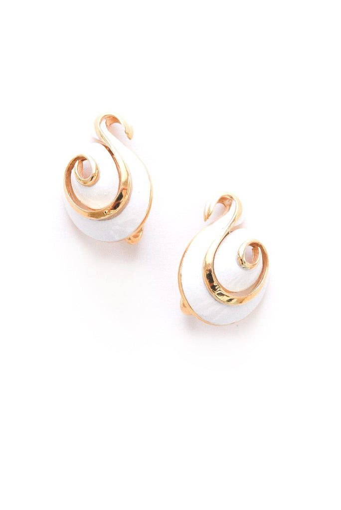 Swirl Clip-on Earrings