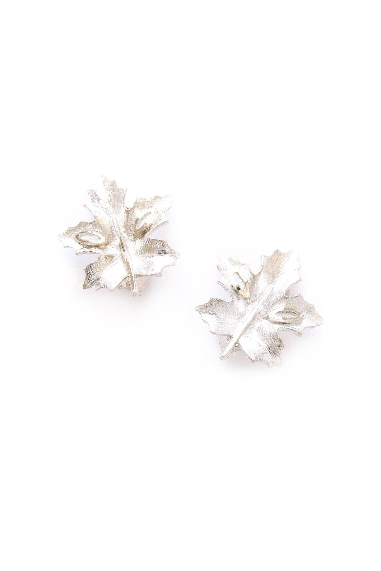 Leaf Clip-on Earrings