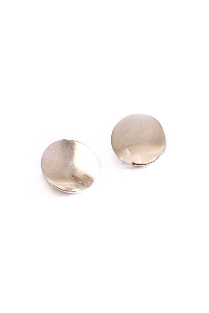 Classic Round Clip-on Earrings