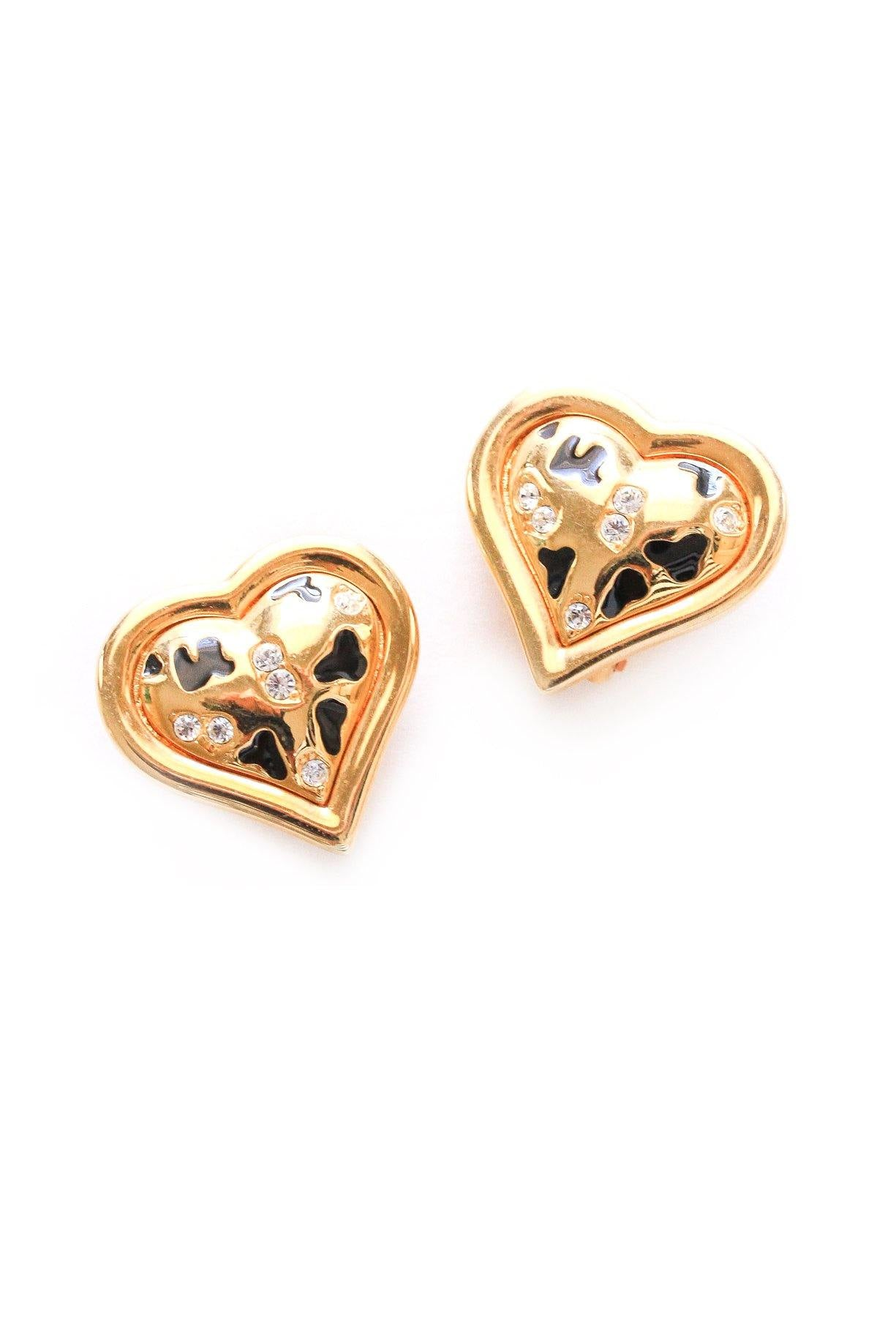 Heart Clip-on Earrings