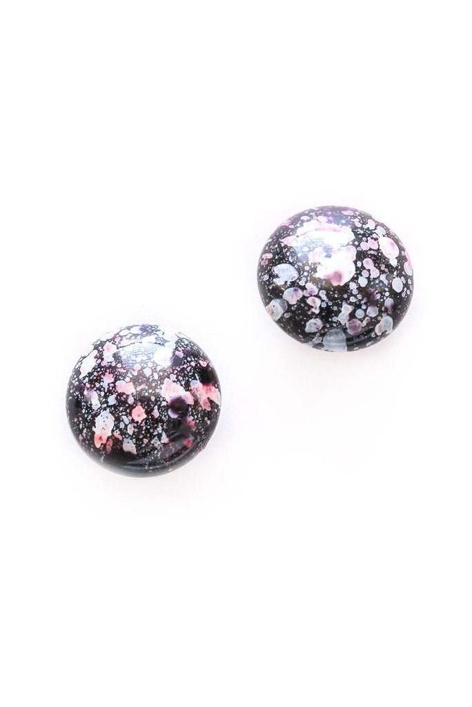 Marbled Clip-on Earrings