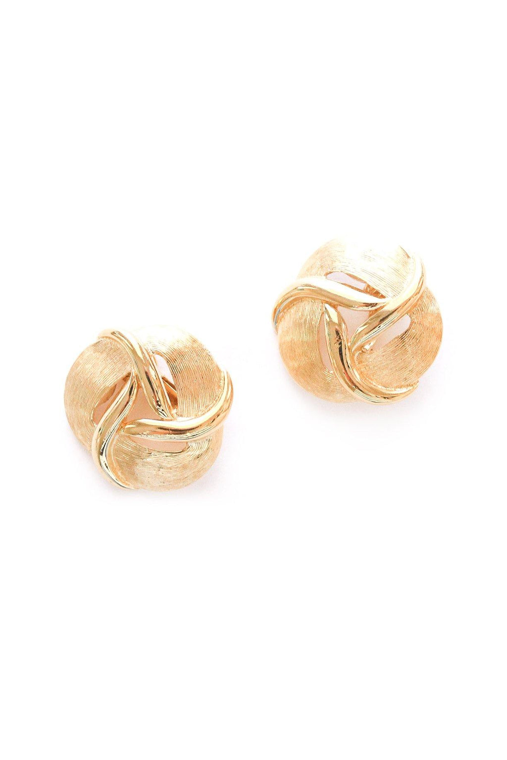 Statement Knot Clip-on Earrings