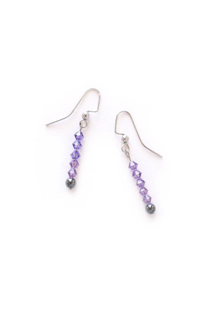 Dainty Beaded Pierced Earrings