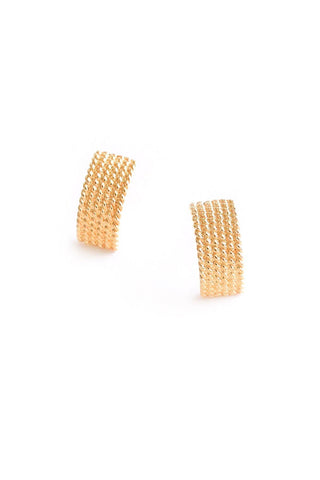 Classic Chain Pierced Earrings