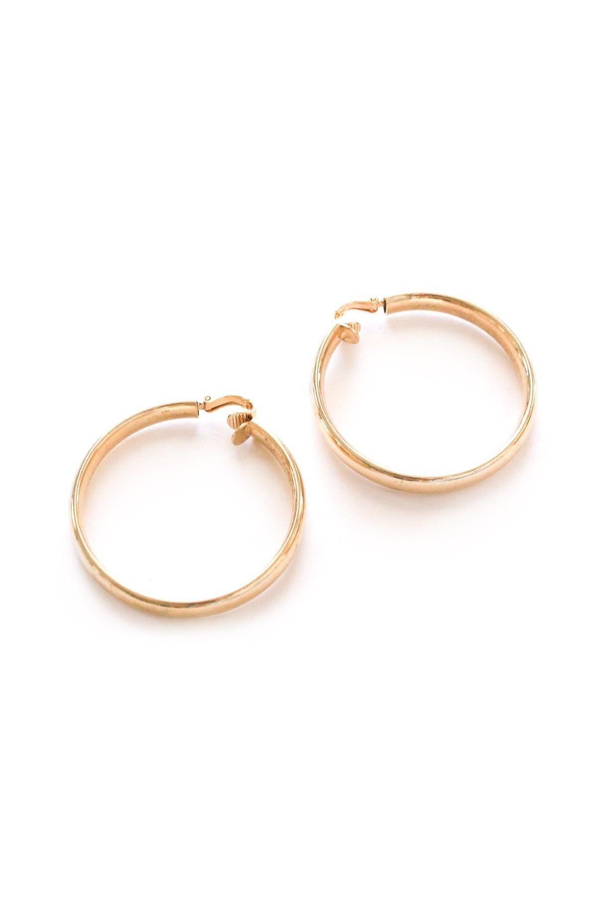 Classic Hoop Clip-on Earrings