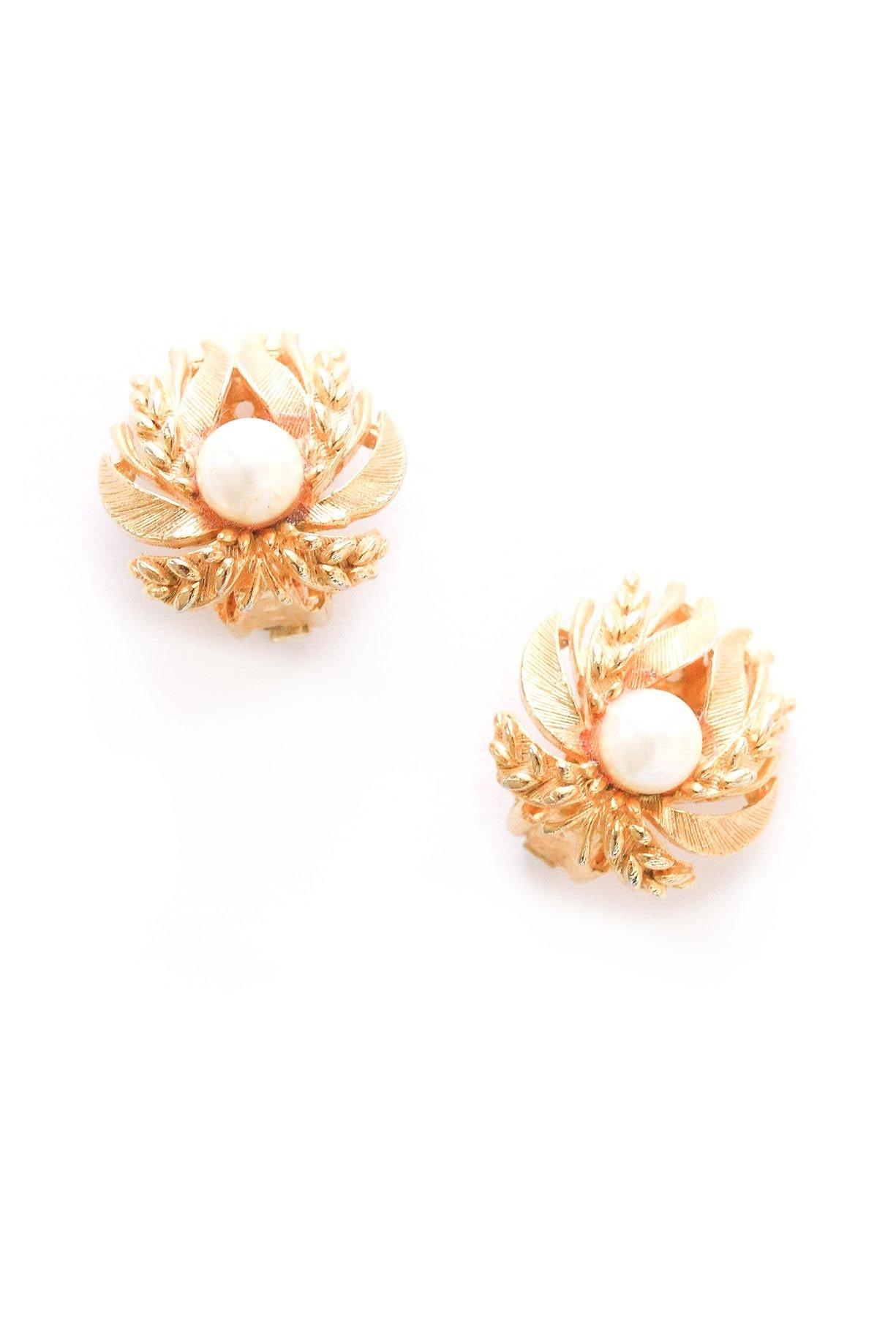 Pretty Pearl Clip-on Earrings