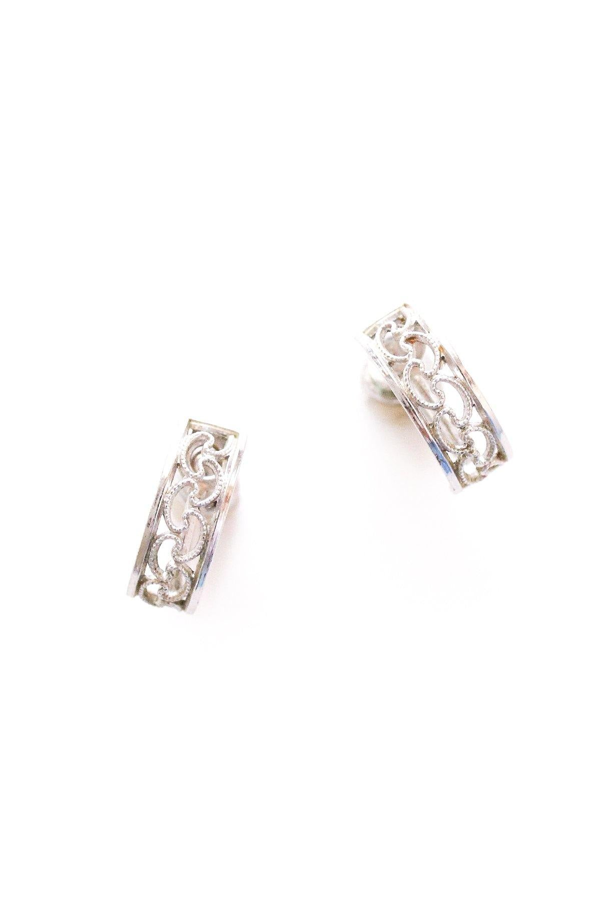 Dainty Half Hoop Clip-on Earrings