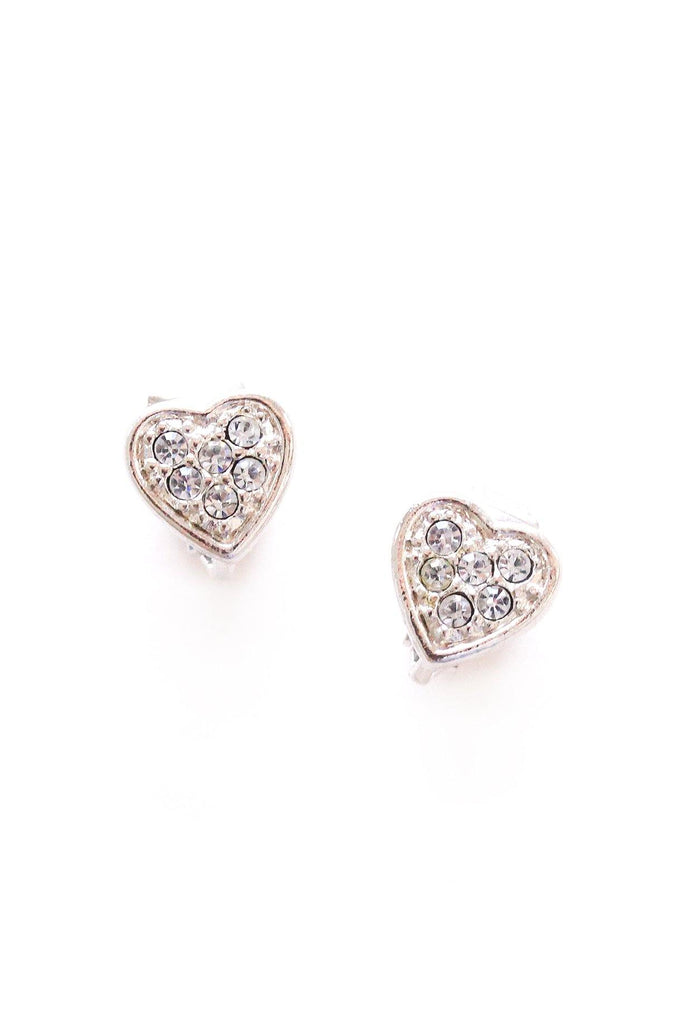 Mini Heart Clip-on Earrings