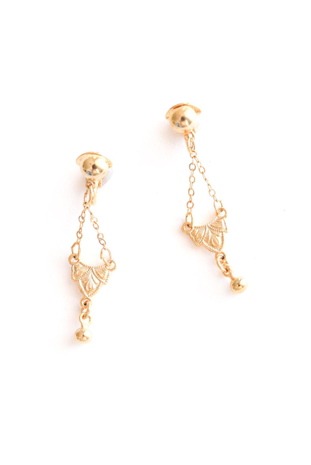 Dainty Drop Clip-on Earrings