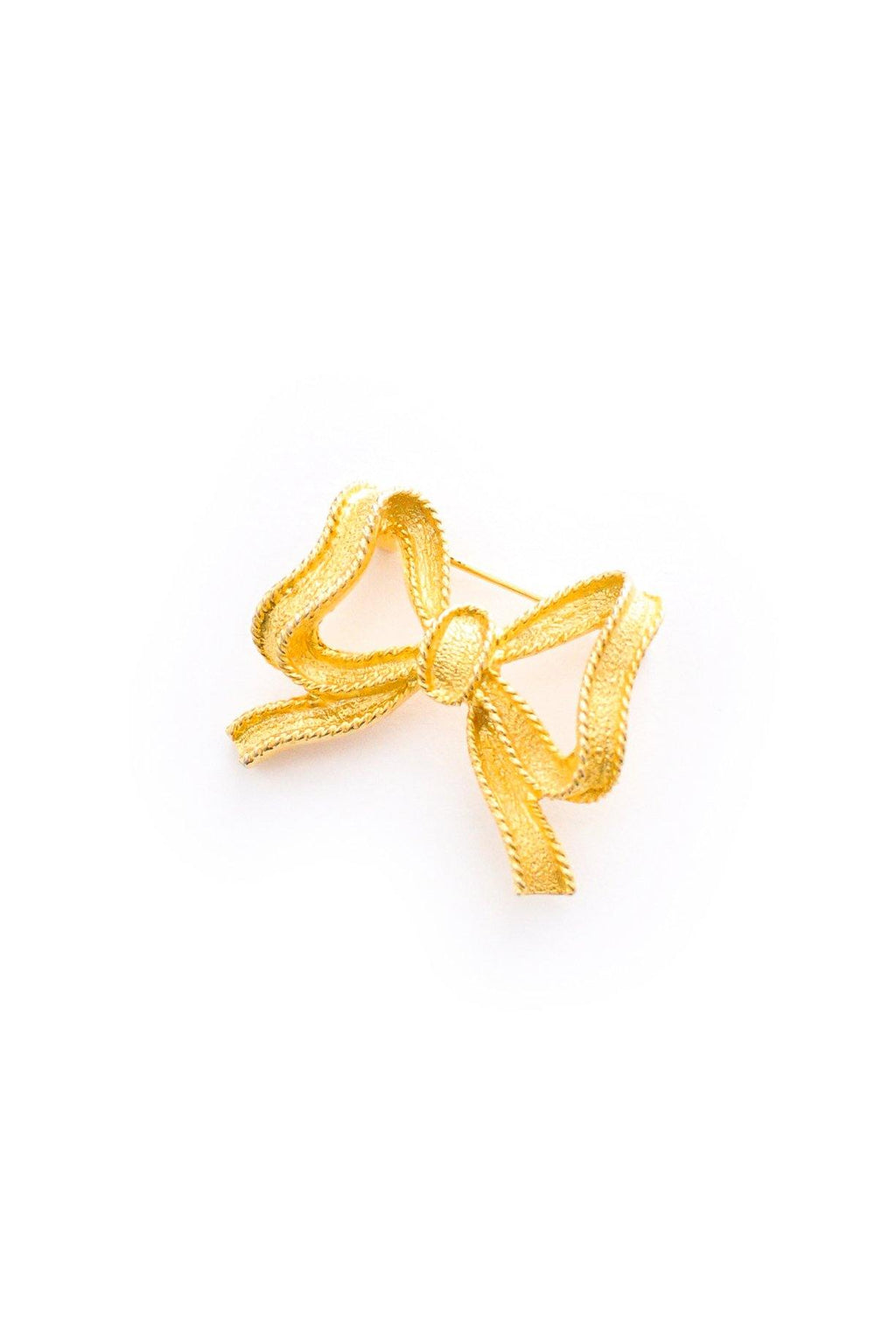 Mini Bow Brooch