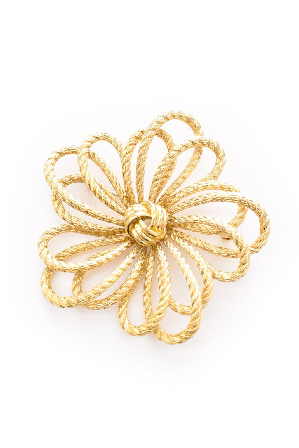 Rope Statement Brooch