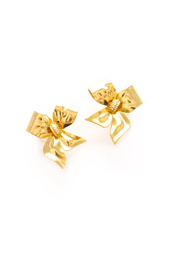 Bow Pierced Earrings