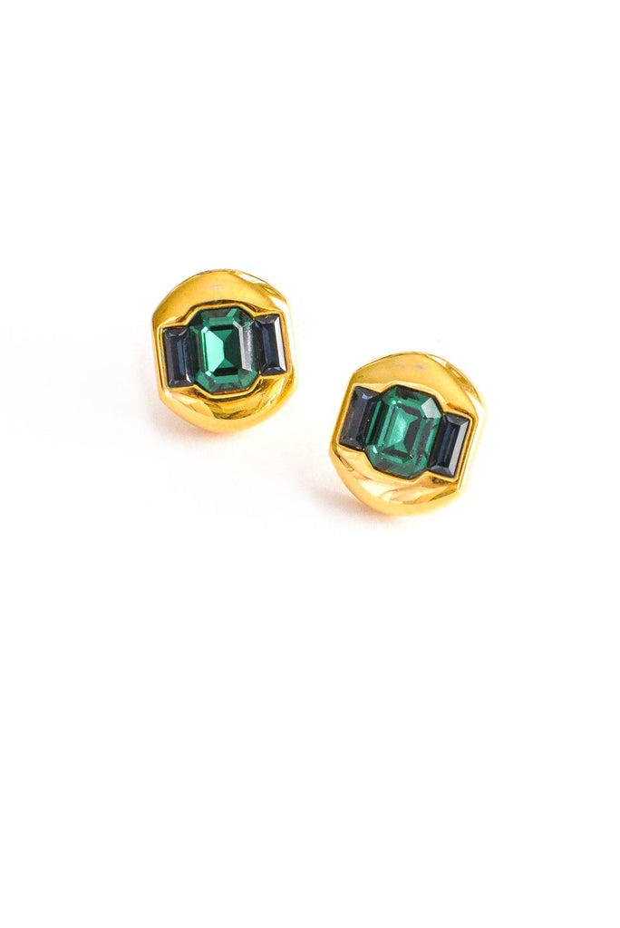 Gem Pierced Earrings