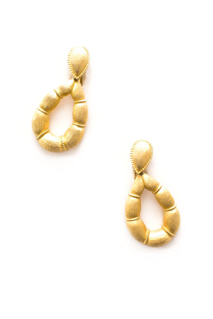 Cushioned Hoop Clip-on Earrings
