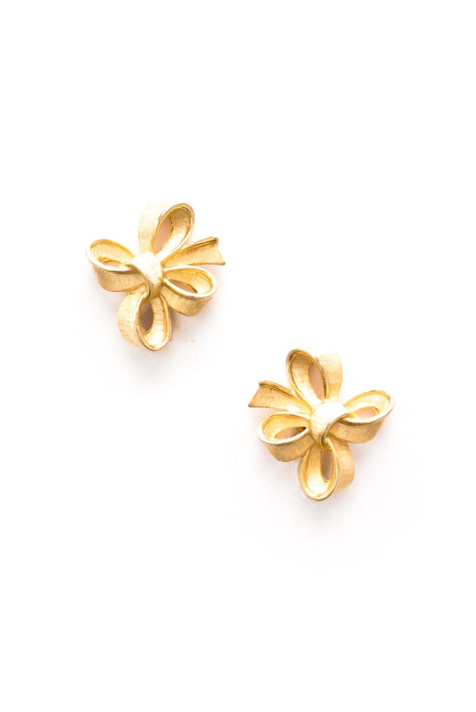 Classic Bow Clip-on Earrings