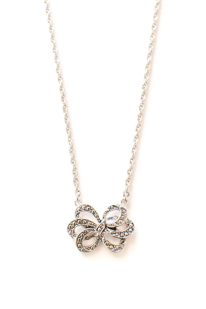 Dainty Bow Necklace