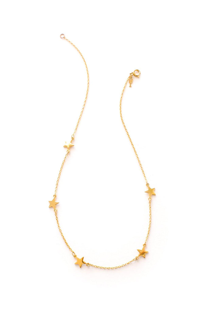 Dainty Stars Necklace