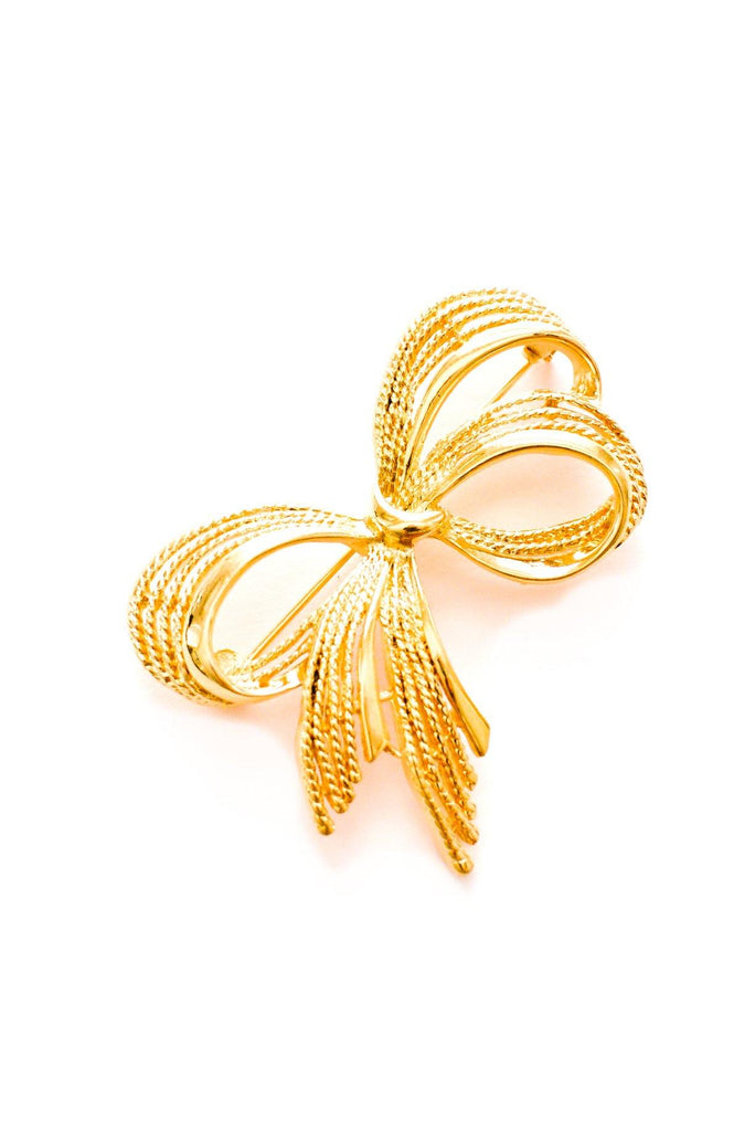 Classic Bow Brooch