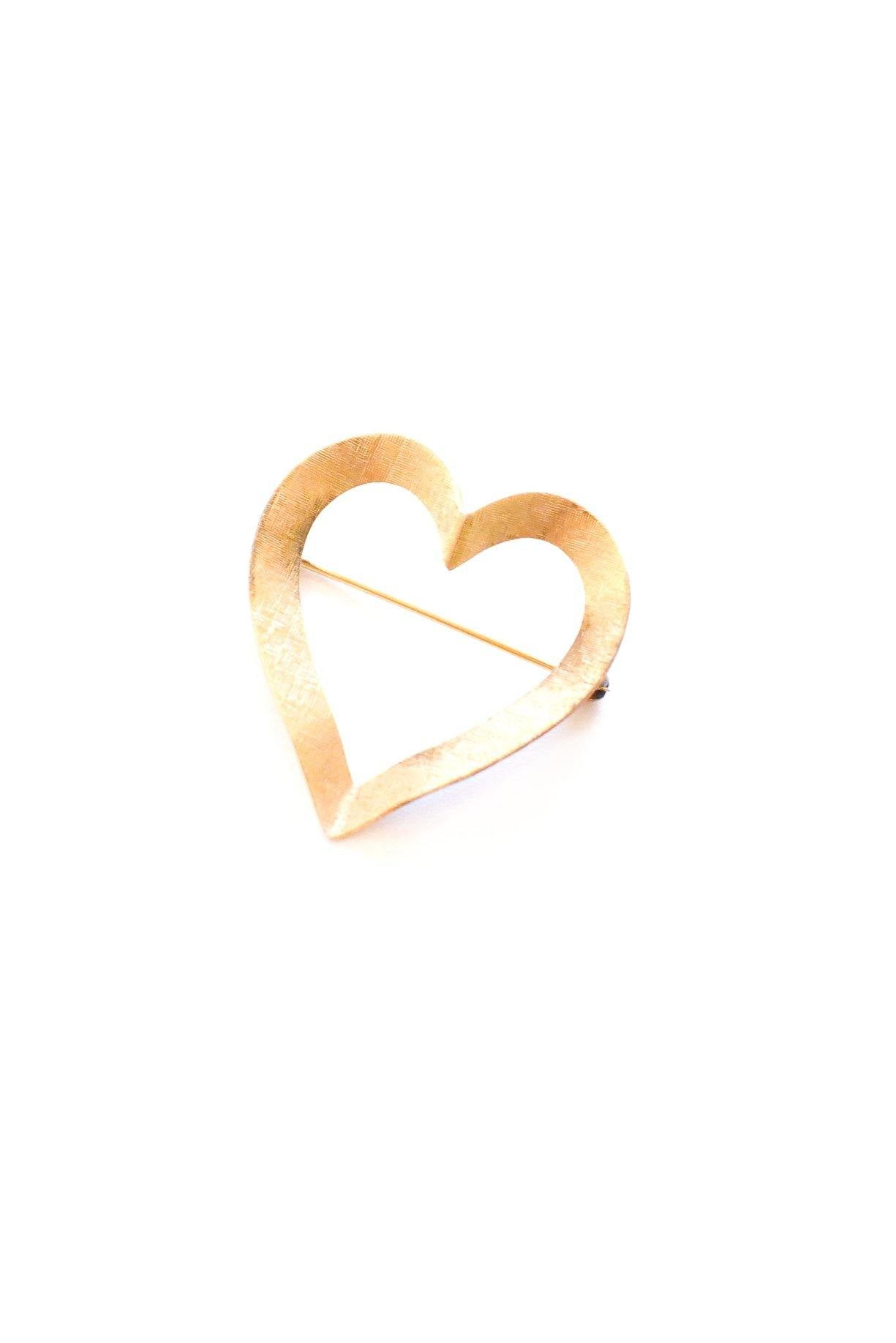 Mini Heart Brooch