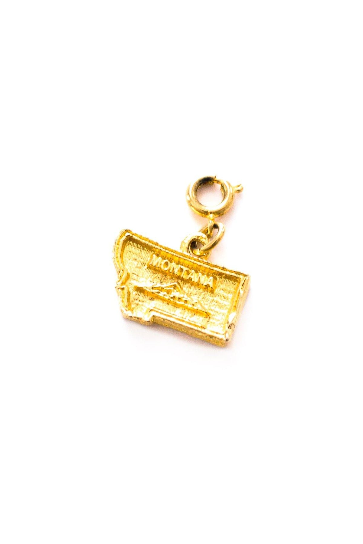 Vintage Montana state charm from Sweet & Spark.