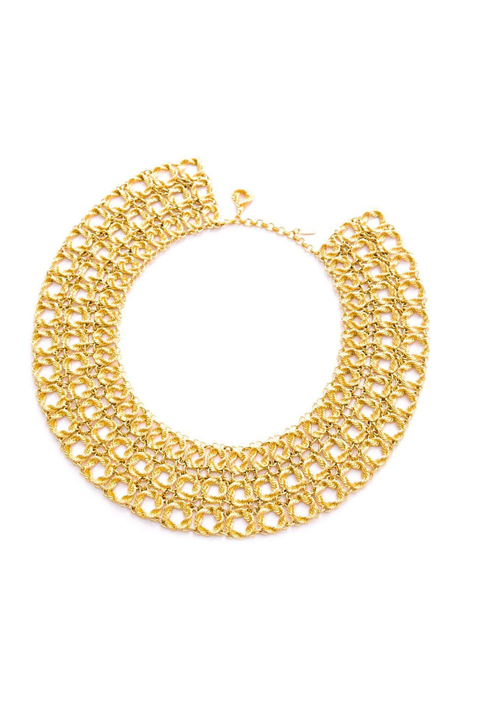 Statement Rope Collar Necklace
