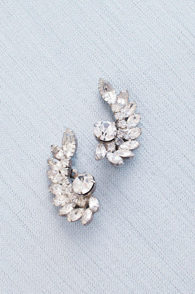 Statement Crawler Clip-on Earrings