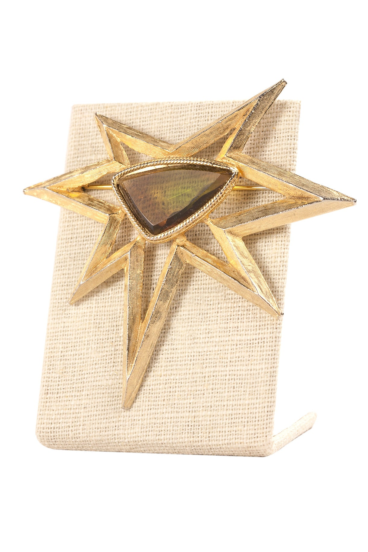 60's__Accessocraft__Statement Star Brooch
