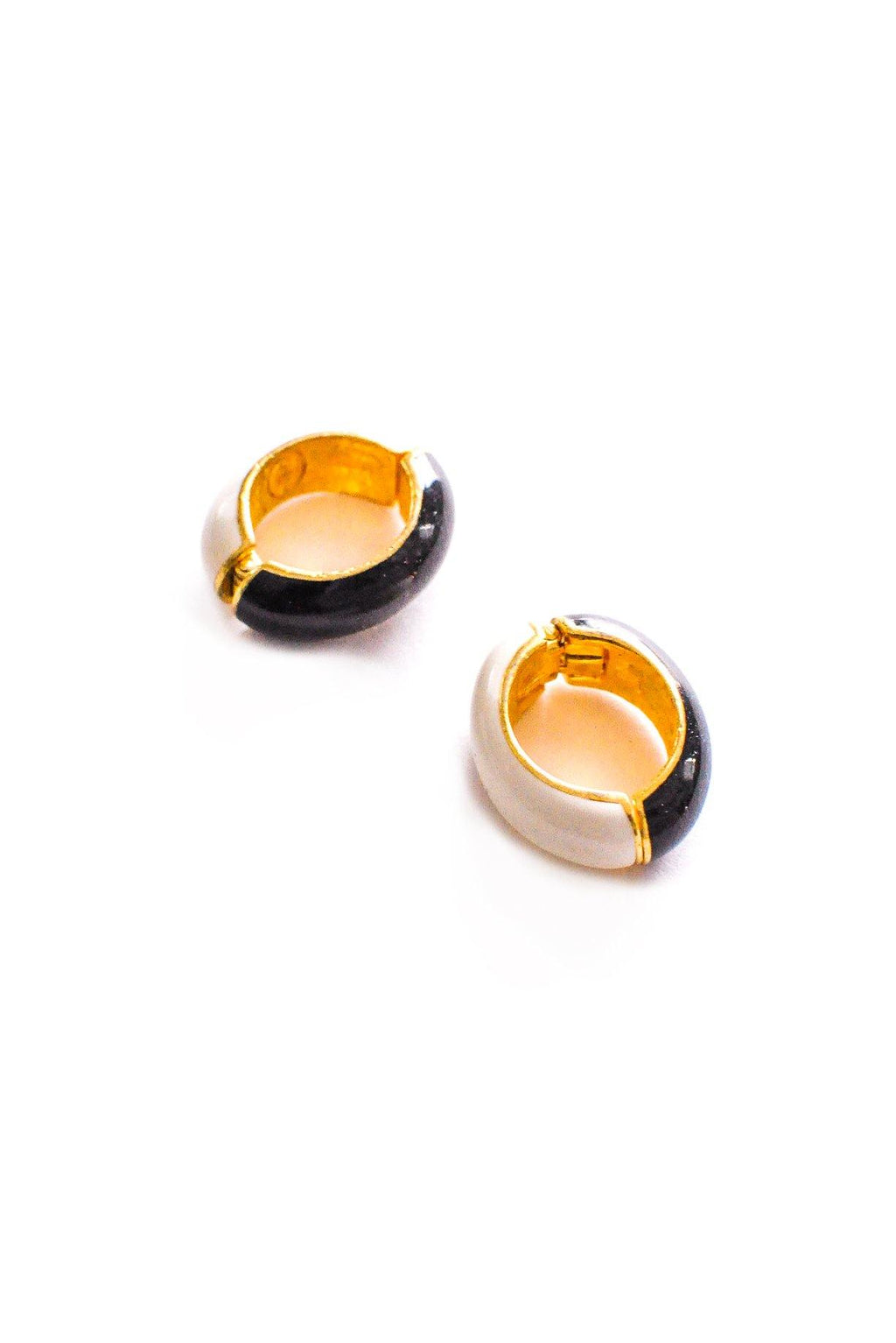 Reversible Hoop Clip-on Earrings
