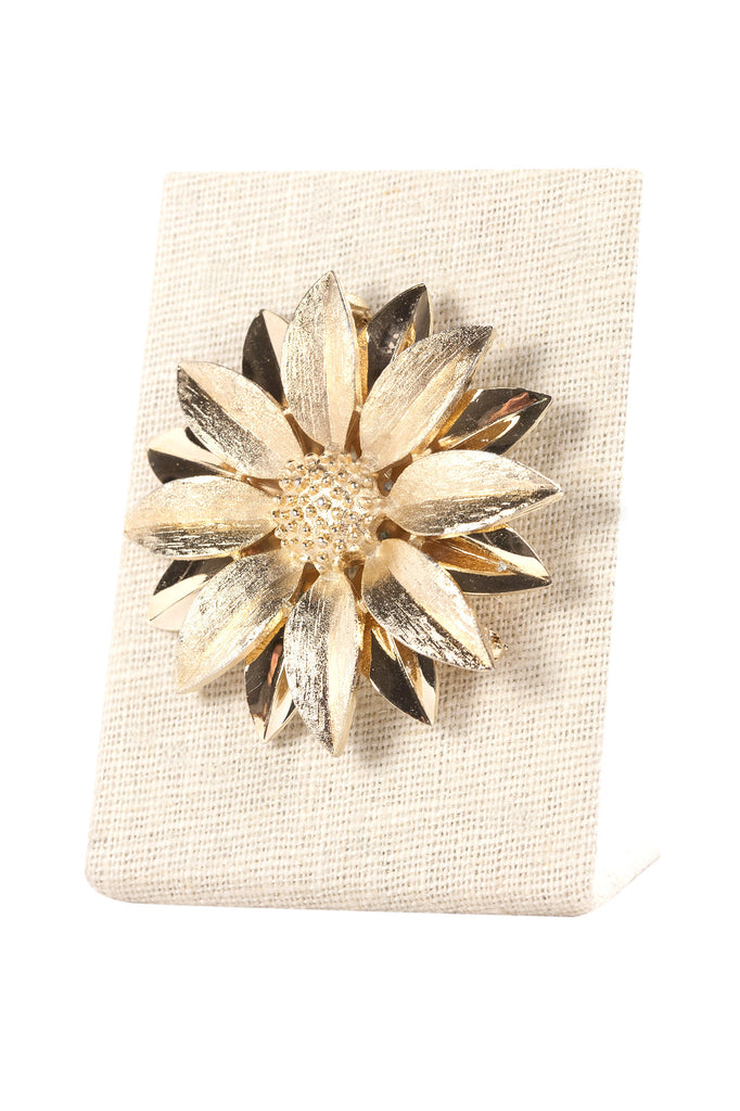 60's__Sarah Coventry__Sunflower Brooch