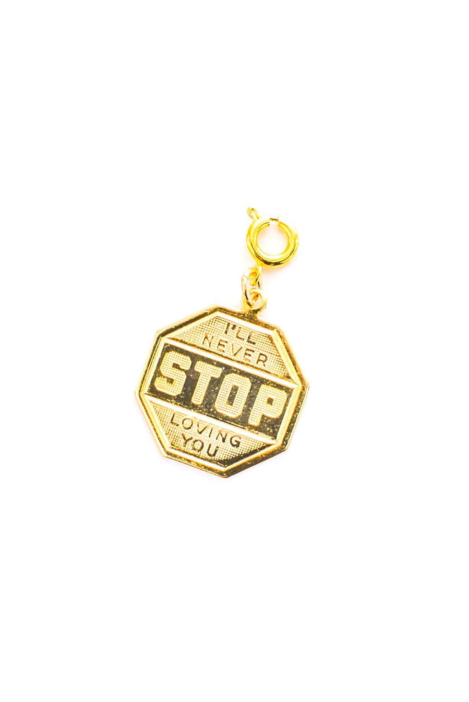 Stop Sign Charm