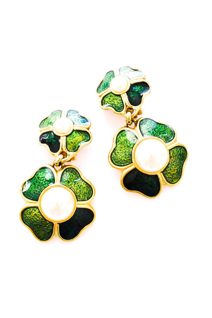 Clover Statement Clip-on Earrings