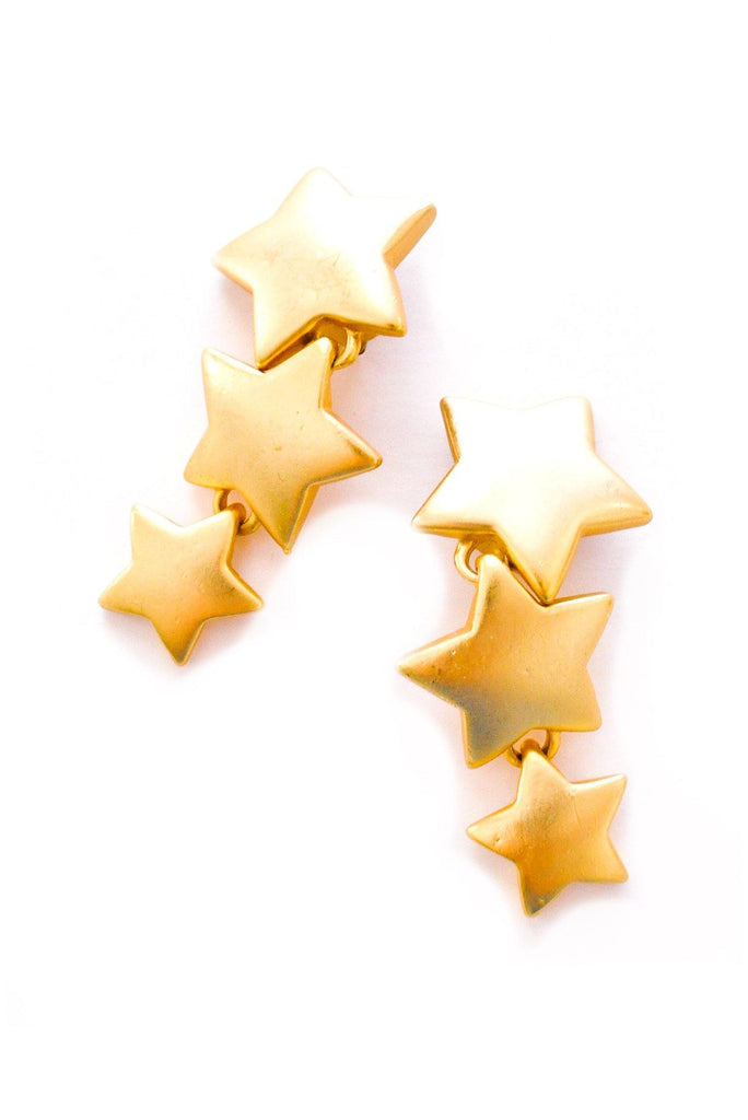 Star Statement Clip-on Earrings
