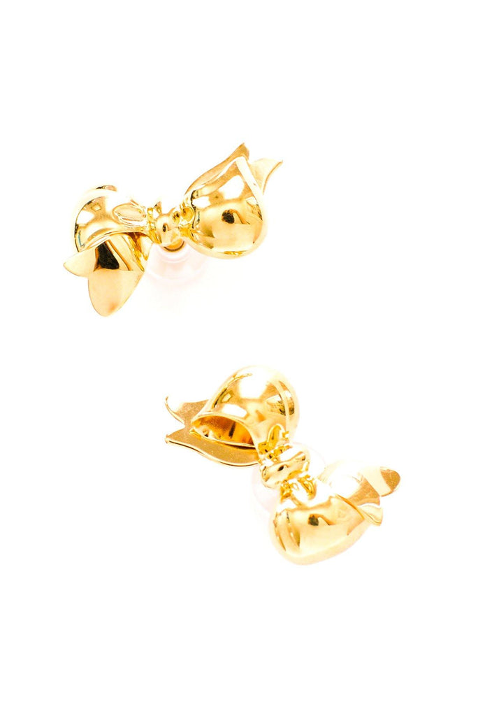 Statement Bow Pierced Earrings