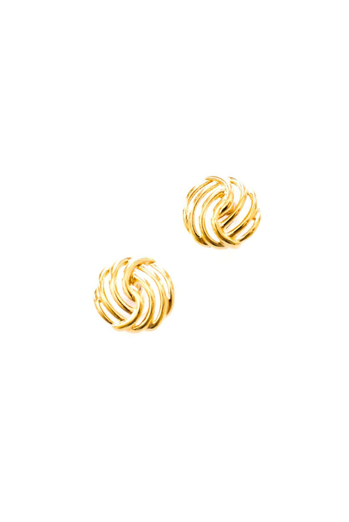 Wave Pierced Earrings