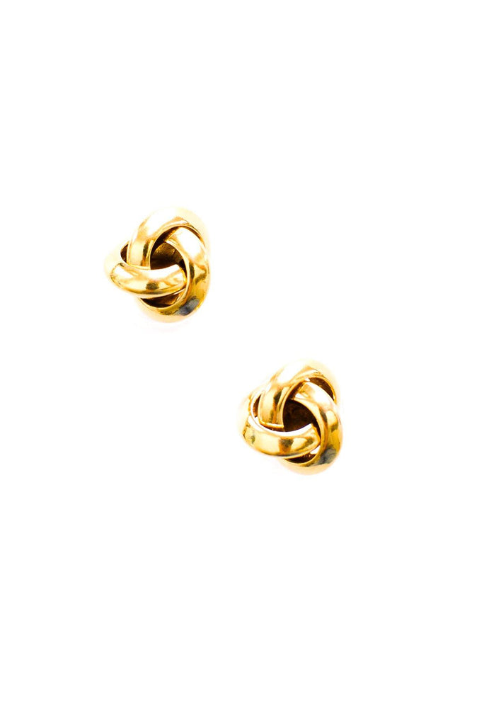 Classic Knot Pierced Earrings