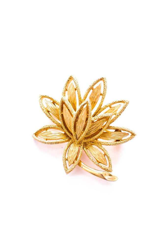Lily Floral Brooch