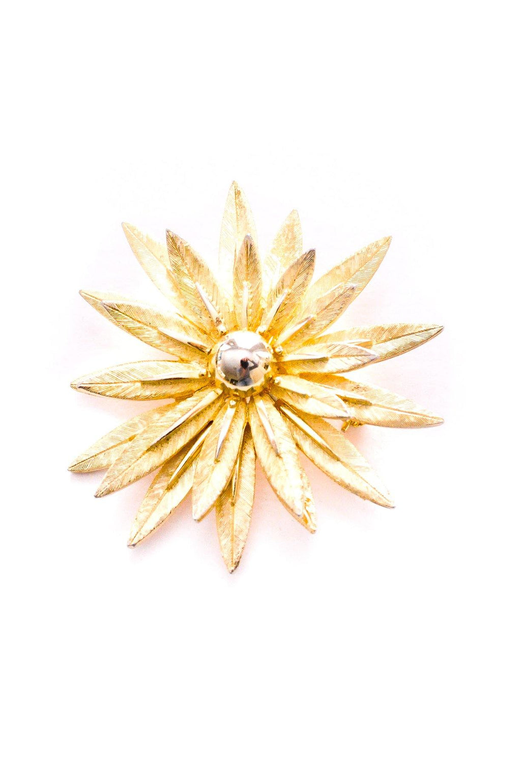 Floral Burst Brooch