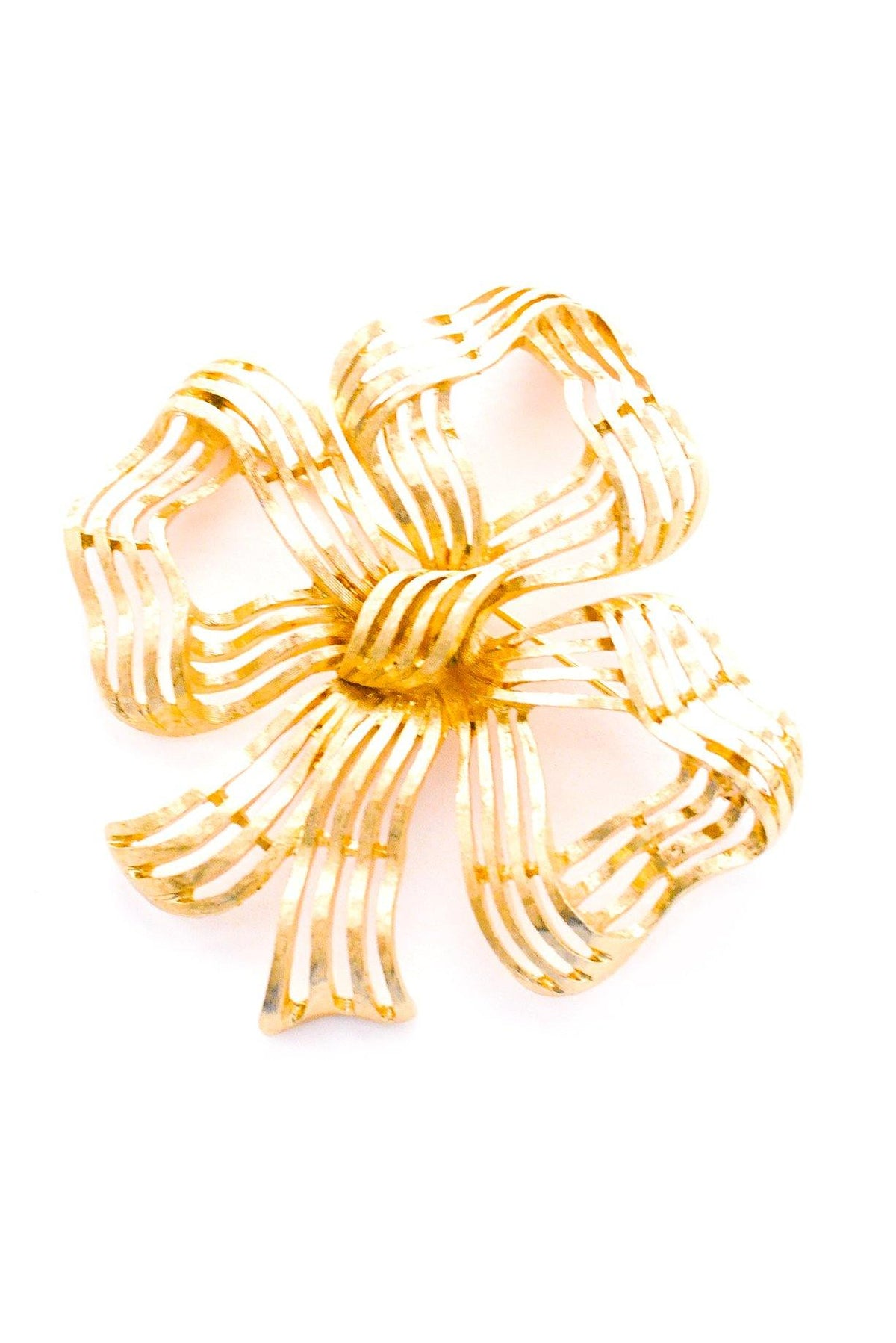 Vintage Monet statement bow brooch from Sweet & Spark.