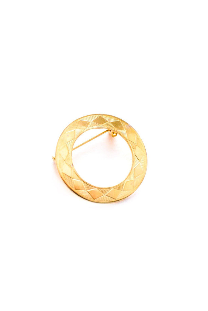 Classic Circle Brooch