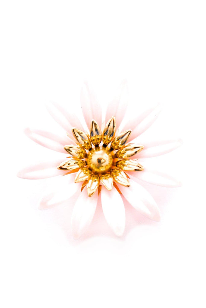 Statement Pink Floral Brooch
