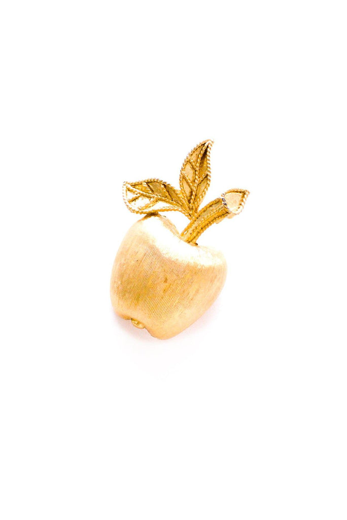Mini Apple Brooch