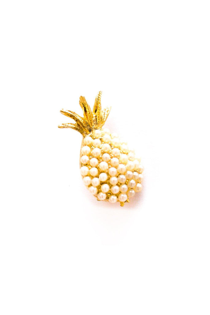 Mini Pearl Pineapple Brooch