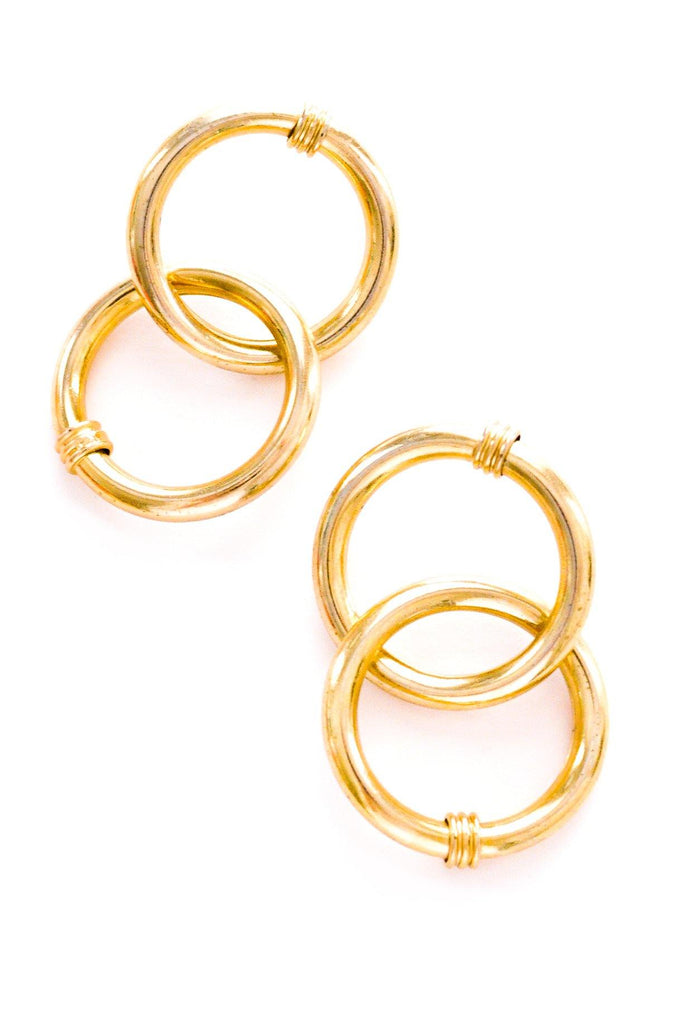 Hoop Statement Pierced Earrings