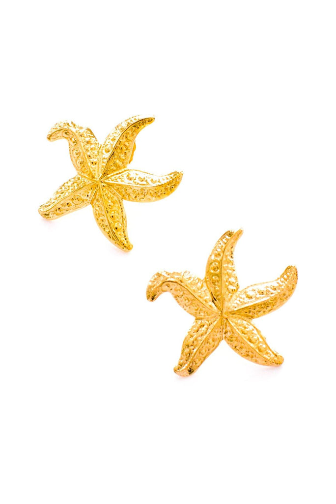 Starfish Pierced Earrings