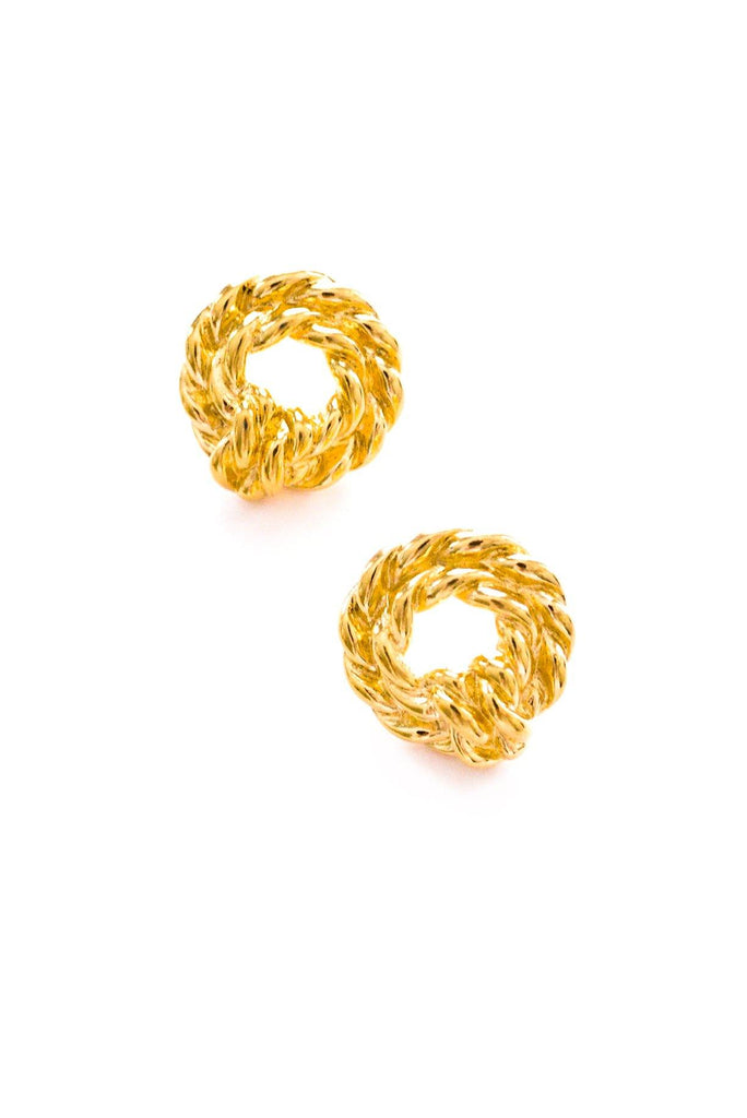 Rope Pierced Earrings